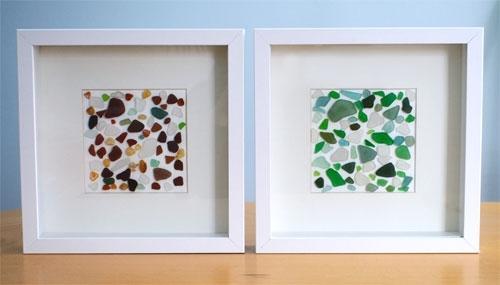 Sea Glass Wall Art For Sea Glass Wall Art (Image 7 of 10)
