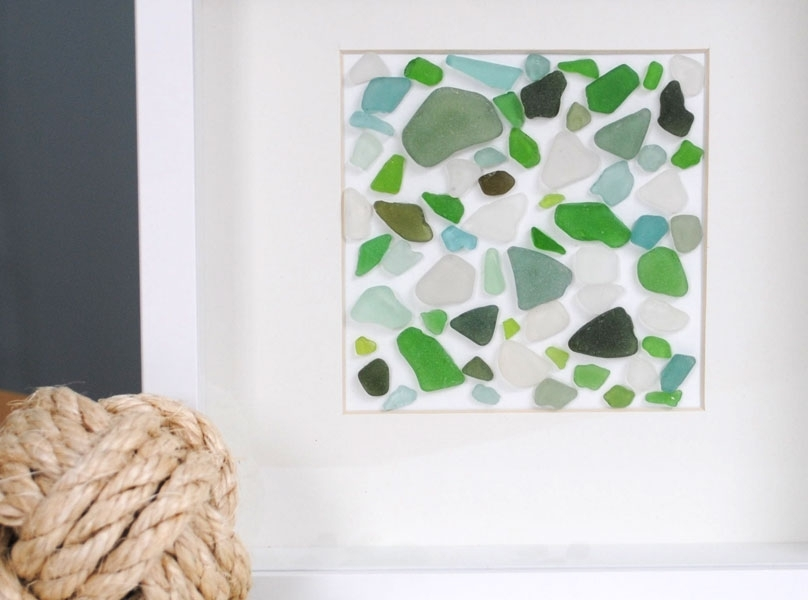 Featured Image of Sea Glass Wall Art