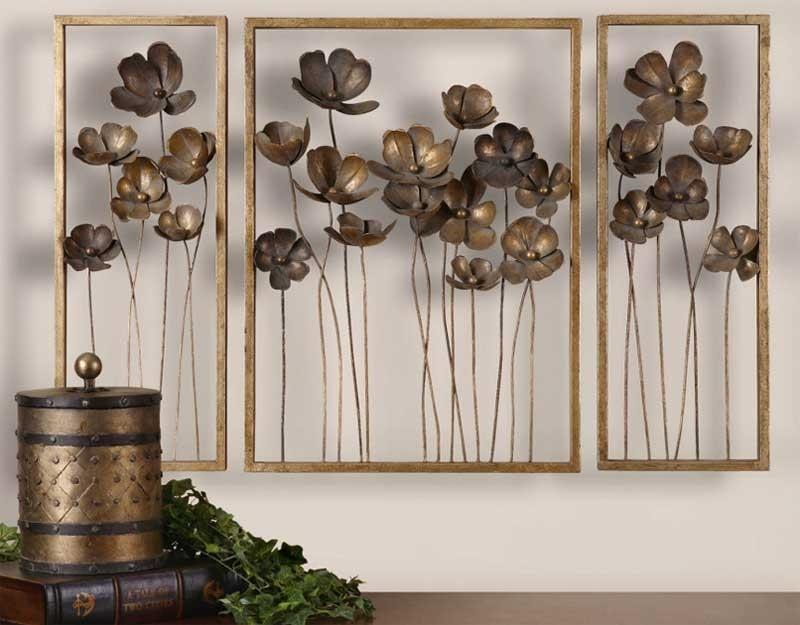 Select Large Metal Wall Decor | Jeffsbakery Basement & Mattress Within Metal Wall Art Decors (Image 8 of 10)