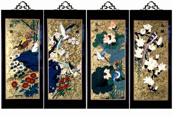 Set Of Oriental Cute Oriental Wall Art – Wall Decoration Ideas With Oriental Wall Art (View 6 of 10)
