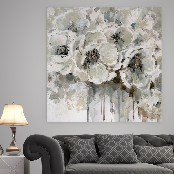 Shop 'quiet Moments' Premium Gallery Wrapped Canvas Wall Art – Free Throughout Gray Canvas Wall Art (Image 7 of 10)