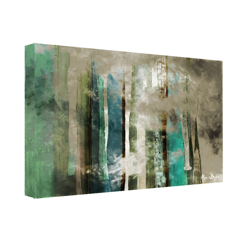 Shop Ready2Hangart 'smash Vi' Oversized Canvas Wall Art – Blue Regarding Oversized Teal Canvas Wall Art (Image 7 of 10)