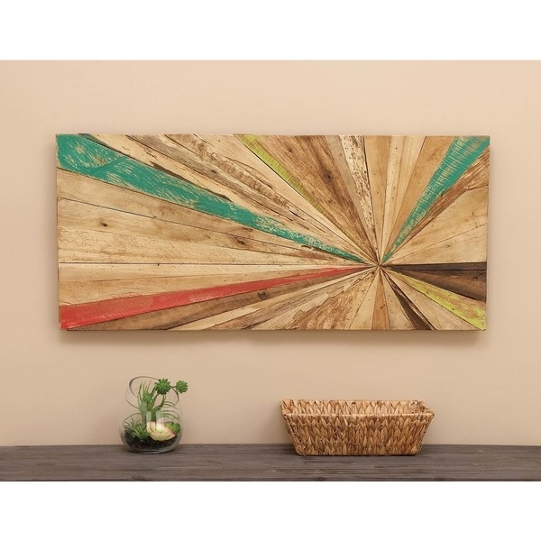 Shop Reclaimed Wood Wall Art – Free Shipping Today – Overstock With Overstock Wall Art (Image 8 of 10)