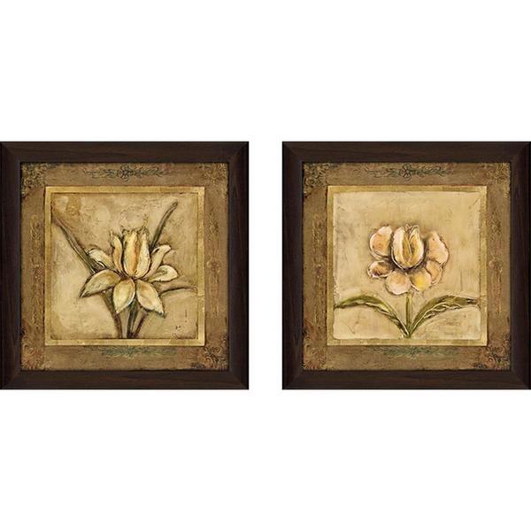 "Shop ""tulip Bronze"" Wall Art Set Of 2, Matching Set – On Sale – Free Inside Bronze Wall Art (View 4 of 10)"