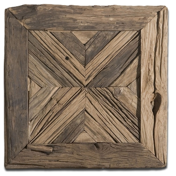 Shop Uttermost Rennick Reclaimed Wood Wall Art – Free Shipping Today Throughout Reclaimed Wood Wall Art (Image 9 of 10)