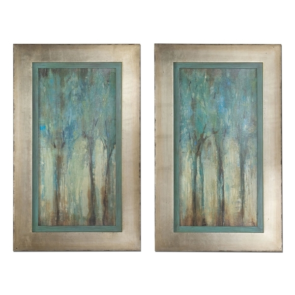 Shop Uttermost 'whispering Wind' Framed Art (Set Of 2) – Free With Regard To Uttermost Wall Art (Image 5 of 10)