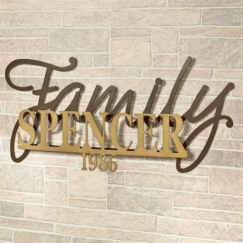 Featured Image of Family Metal Wall Art