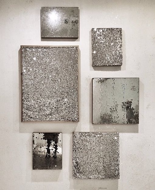 Silver Wall Art … | Diy Ideas | Pinte… Regarding Silver Wall Art (View 1 of 10)