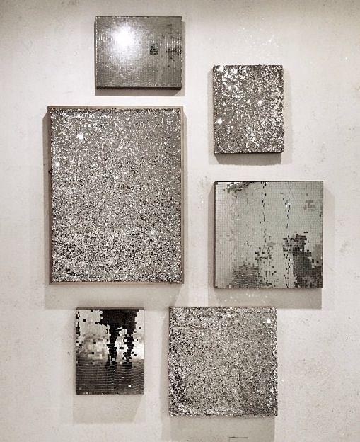 Silver Wall Art … | Diy Ideas | Pinte… With Regard To Grey Wall Art (View 8 of 10)