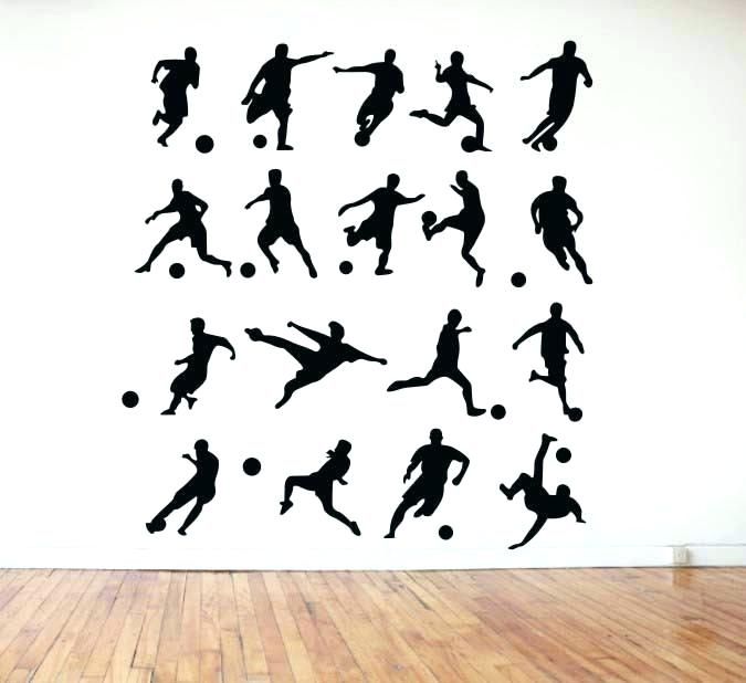 Soccer Wall Decor Soccer Wall Art Designs Football Players On Canvas Intended For Soccer Wall Art (Image 9 of 10)