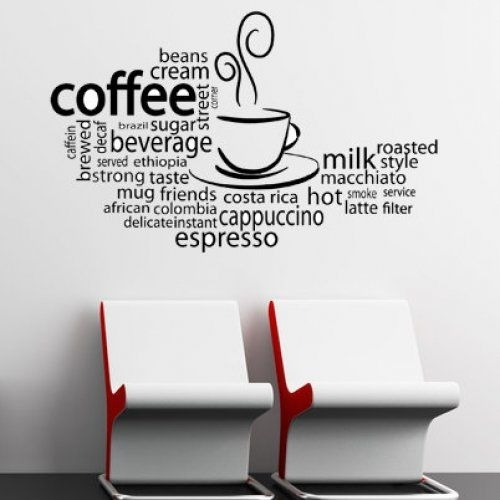 Some Cute Wall Art :) | For The Coffee Shoppe | Pinterest | Walls With Regard To Coffee Wall Art (Image 10 of 10)