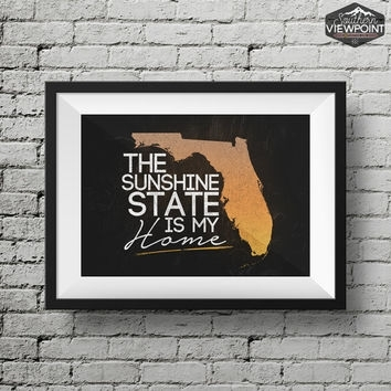 Southernviewpoint On Etsy On Wanelo Intended For Florida Wall Art (View 7 of 10)