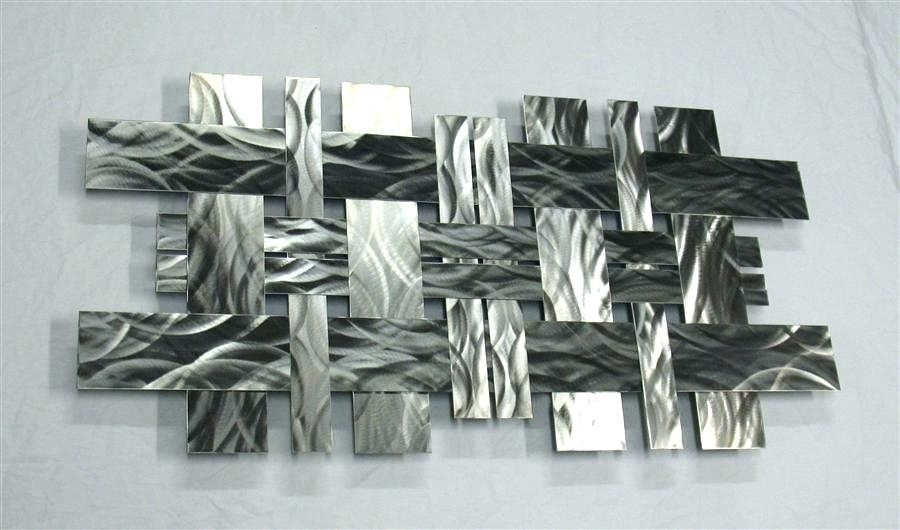 Stainless Steel Wall Art Metal Sculpture Wall Art Items Similar To Inside Modern Metal Wall Art (Image 7 of 10)