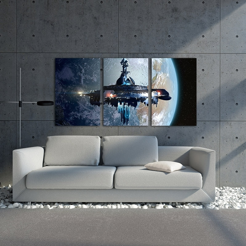 Star Wars Wall Art Decor – Barely Geek With Regard To Star Wars Wall Art (View 5 of 10)