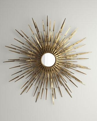 Starburst' Wall Accent – Neiman Marcus With Regard To Starburst Wall Art (View 2 of 10)