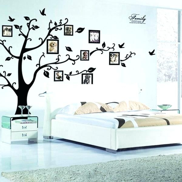 Stick On Wall Art Large Size Of Bedroom Wall Decals Bedroom Peel And Intended For Stick On Wall Art (Image 8 of 10)