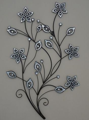 Featured Image of Metal Flower Wall Art