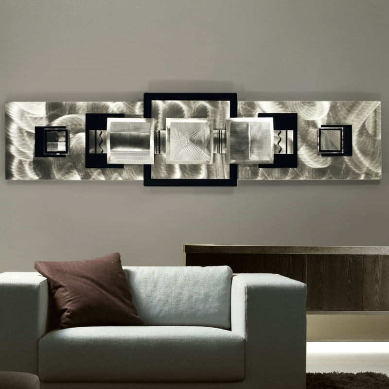 Stylish Metal Wall Décor Ideas | Decozilla Pertaining To Modern Metal Wall Art (Image 8 of 10)