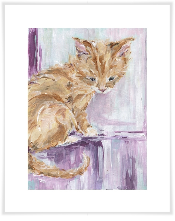 Tabby Cat, Dog & Cats Canvas Wall Art | Greenbox Within Cat Canvas Wall Art (Image 10 of 10)