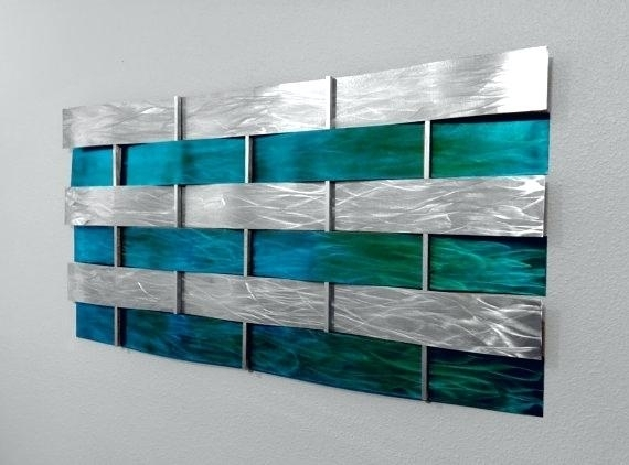 Featured Image of Teal Wall Art