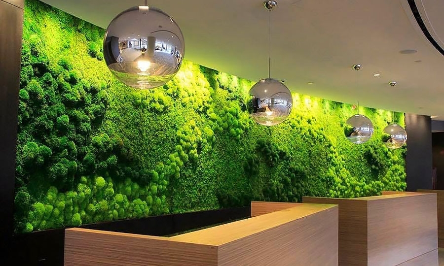 The Perfect Green Wall Art For Your Home Or Business – Artisan Moss Inside Living Wall Art (Photo 7 of 10)
