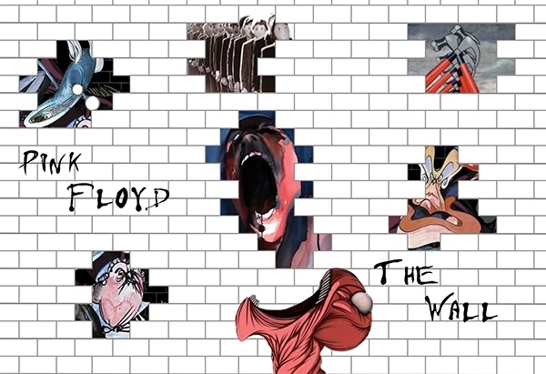 The Wall Artwork Pink Floyd – Copperc Art Cafe With Pink Floyd The Wall Art (View 5 of 10)