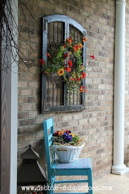 Thrifty Makeovers Take 2 | Your Best Diy Projects | Pinterest For Outdoor Wall Art Decors (Image 9 of 10)