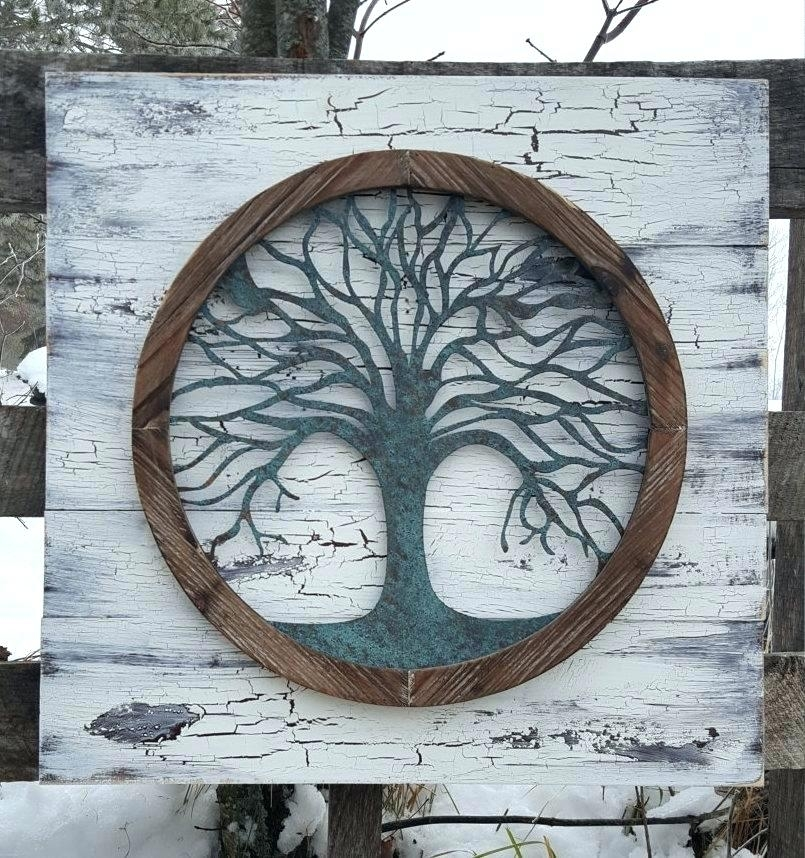 Tree Of Life Wall Decor Wall Tree Of Life Wall Art Wall Decoration Within Tree Of Life Wall Art (Image 10 of 10)