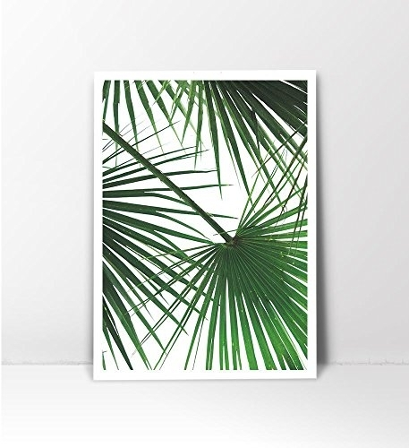 Tropical Leaf Print, Palm Tree Print, Palm Leaf Print, Palm Tree Art With Palm Tree Wall Art (Photo 6 of 10)