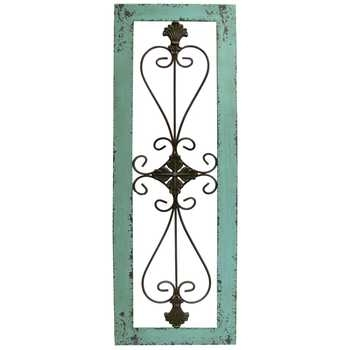 Turquoise Framed Metal Wall Decor | Hobby Lobby | 437897 For Hobby Lobby Metal Wall Art (View 5 of 10)