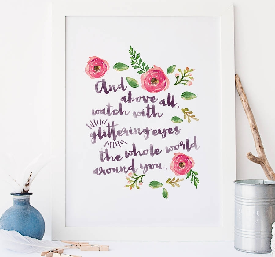 Featured Image of Quote Wall Art
