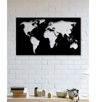 Unique Custom Designed Wall Decoration Product,world Map Metal Wall Art For Wall Art Map Of World (View 4 of 10)