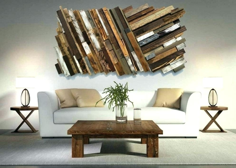 Unusual Wall Art Fine Decoration Unique Pallet Ideas And Designs Inside Unusual Wall Art (Image 4 of 10)