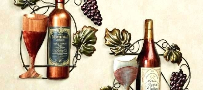 Useful Wine Metal Wall Art G2635982 Touch Of Class Metal Wall Art Regarding Touch Of Class Wall Art (Image 8 of 10)