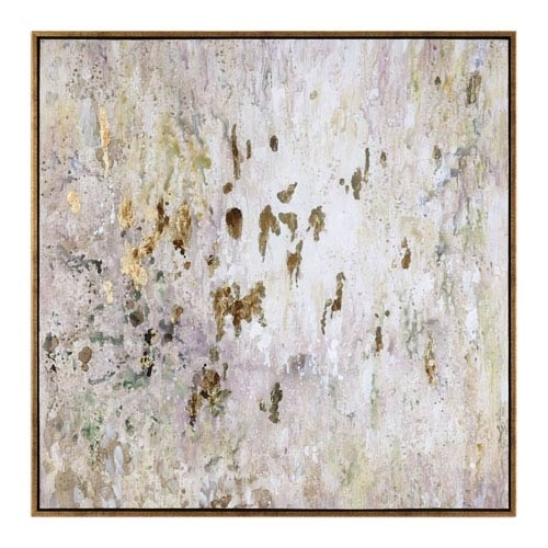 Uttermost Golden Raindrops Modern Abstract Wall Art 34362 | Bellacor Pertaining To Uttermost Wall Art (Photo 4 of 10)