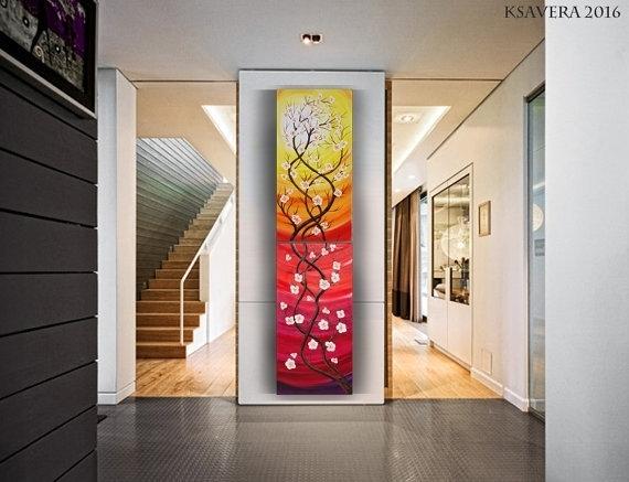 Vertical Wall Art Simple Wall Art Vertical – Wall Decoration Ideas Regarding Vertical Wall Art (Photo 6 of 10)
