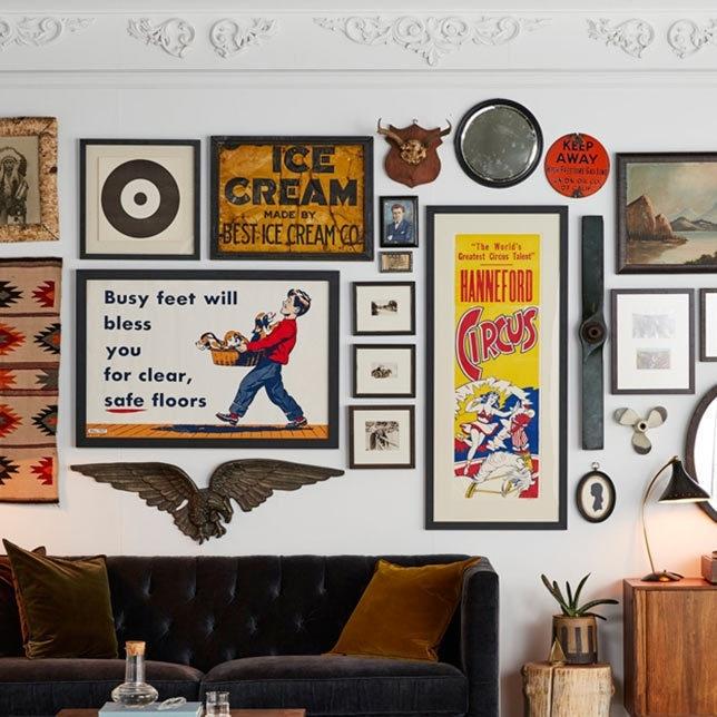 Vintage Art & Wall Decor | Rejuvenation With Vintage Wall Art (Photo 4 of 10)