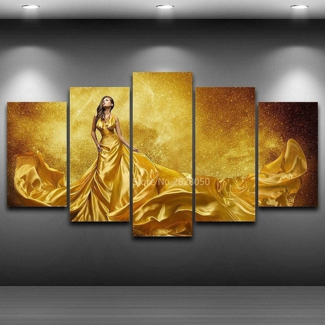 Wall Art Canvas Prints Wall Picture Painting Panels Home Decoration Intended For Long Canvas Wall Art (Image 10 of 10)