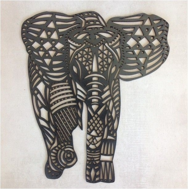 Wall Art Designs: Elephant Wall Art Elephant Wall Art Hobby Lobby Intended For Elephant Wall Art (Image 10 of 10)