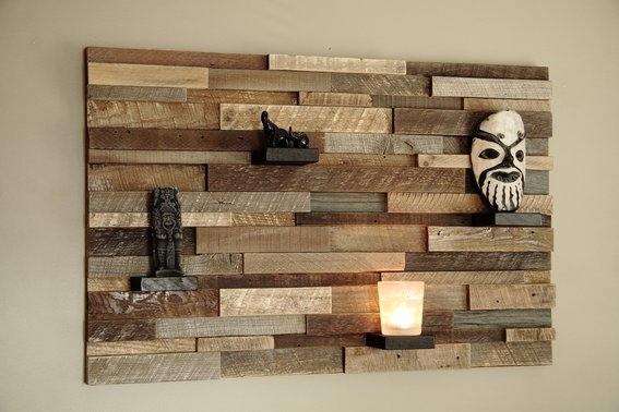 Wall Art Ideas Within Wood Art Wall (Image 7 of 10)