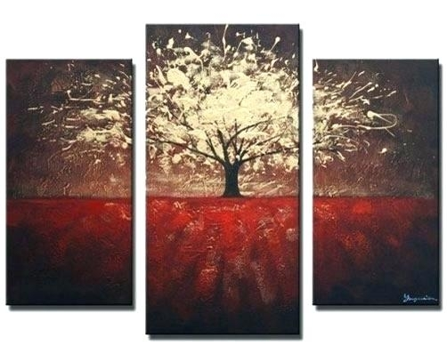 Wall Art Sets Multi Piece Canvas Wall Art Cheap Canvas Wall Art With Panel Wall Art (Image 10 of 10)