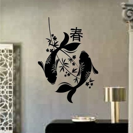 Wall Decal Quotes: Japanese Wall Art  Cool Japanese Inspired Wall Pertaining To Japanese Wall Art (Image 10 of 10)