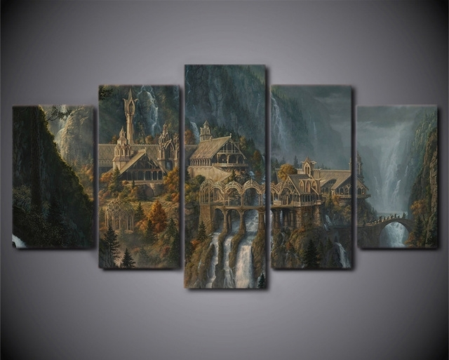 Featured Image of Lord Of The Rings Wall Art