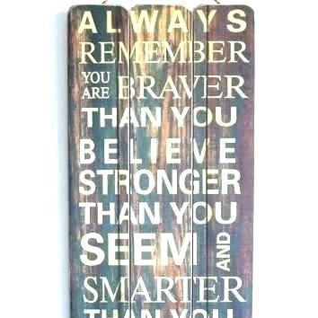 Wall Signs With Quotes Modern Wood Wall Art Quotes Best Of Best Within Wood Wall Art Quotes (Image 9 of 10)