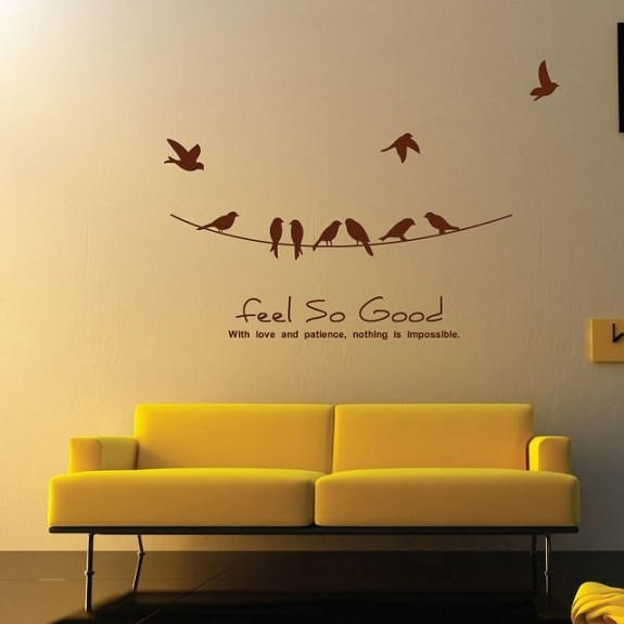 Wall Sticker Art – 1 – In Decors Intended For Wall Sticker Art (Image 9 of 10)