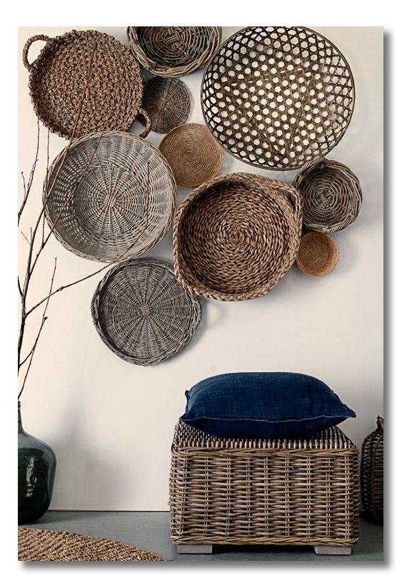 Featured Image of Woven Basket Wall Art