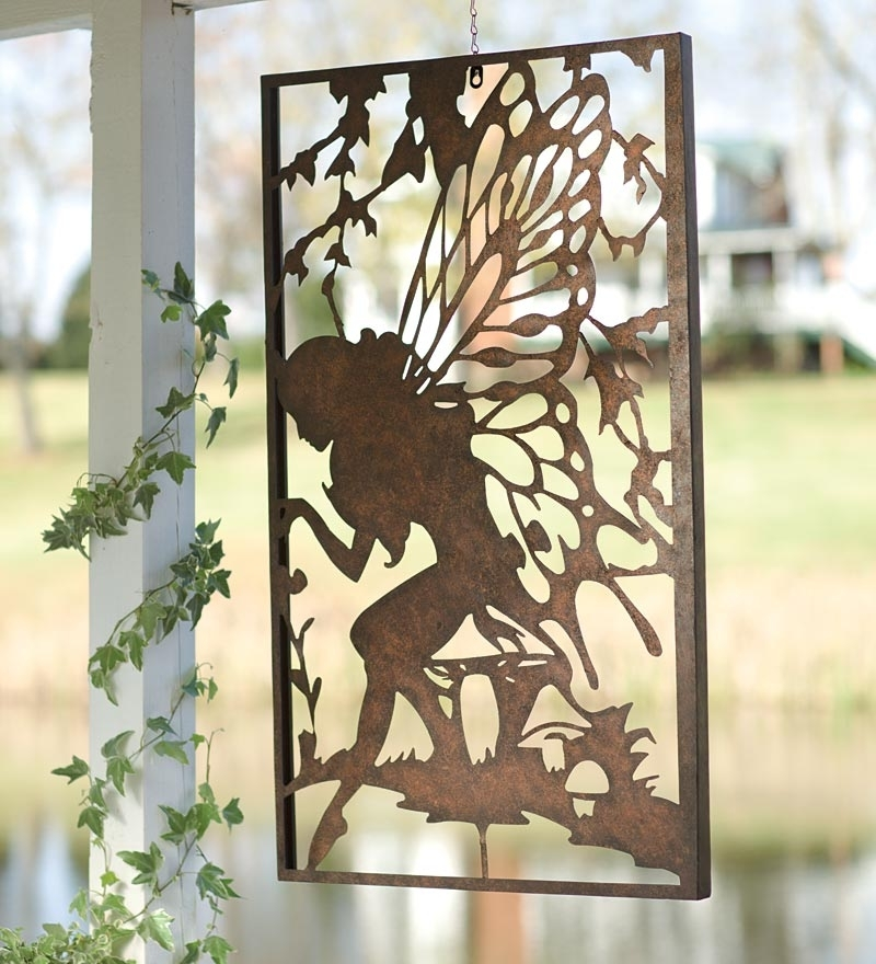 White Outdoor Metal Wall Art Outdoor Metal Wall Art Design Ideas Within Metal Outdoor Wall Art (View 5 of 10)