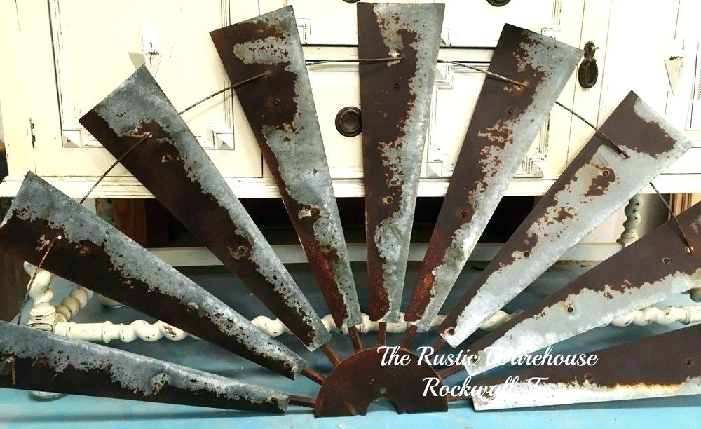 Windmill Blades Wall Decor Windmill Blades Wall Decor Fixer Upper For Windmill Wall Art (Image 6 of 10)