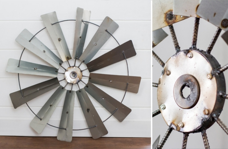 Windmill Wall Decor For Sale, Decorative Windmill Wall Art, Metal Inside Windmill Wall Art (Image 9 of 10)