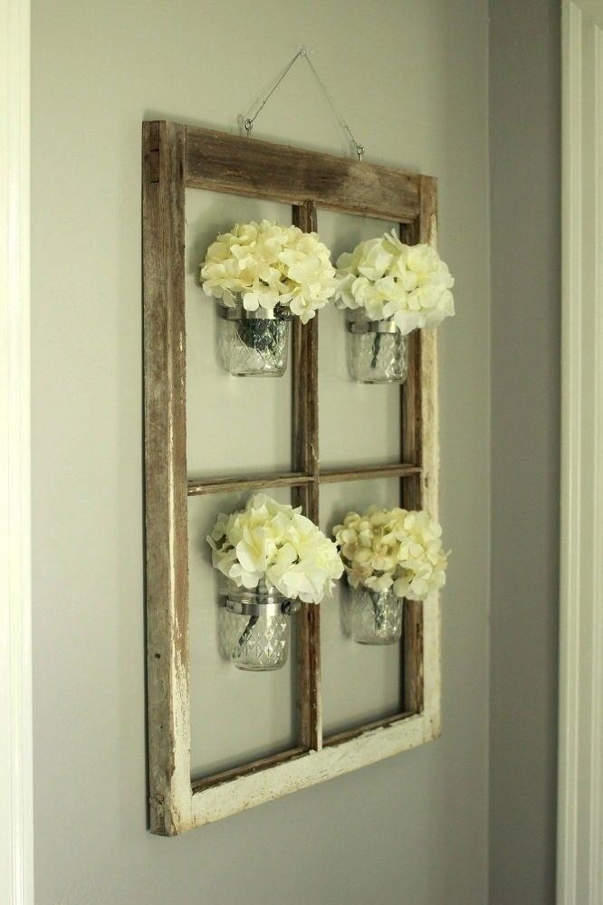 Window Frame Decor Best Window Frame Decor Ideas On Old Window With Regard To Window Frame Wall Art (Image 7 of 10)